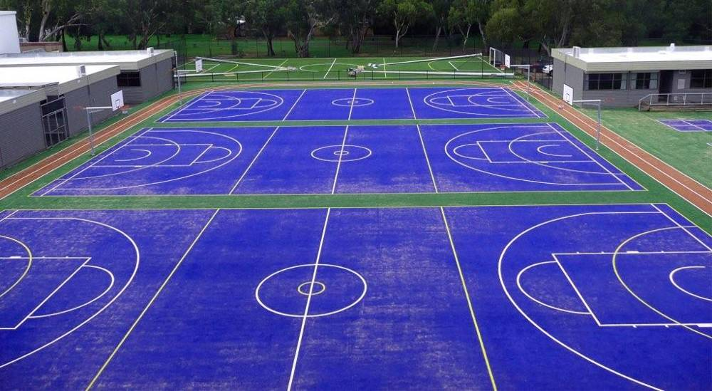 school-sports-turf-blue-courts