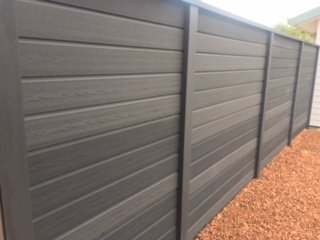 Timber Fencing - Timberlook composite alternative 02