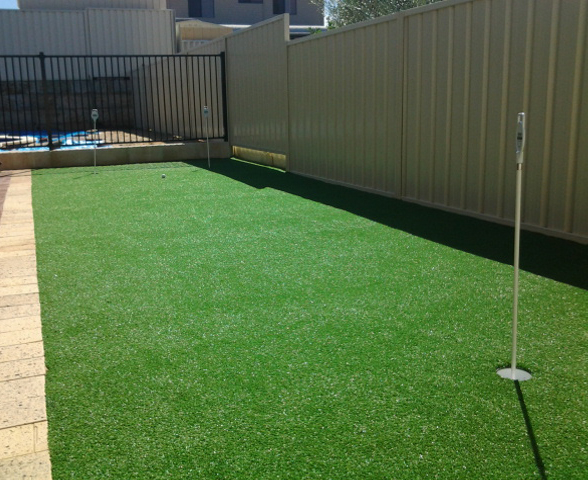 True Putt artificial turf putting green in Coogee
